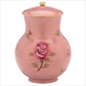 Dusty Rose Cloisonne' Full Size Urn
