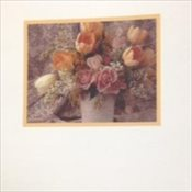 Stock Memorial Folders - Flowers
