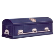 American Valor Galvanized 12 Gauge Steel Burial Vault