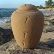 Biodegradable Sand Urn
