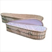 Terra Wicker Casket