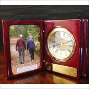 Portrait Book Clock Keepsake