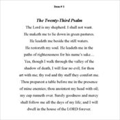 1 - 23rd Psalm