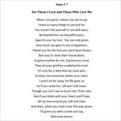 7 - For Those I Love & Those Who Love Me