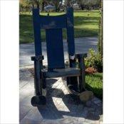 Rocking Chair Bench