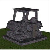 Golf Cart Cremation Estate