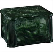 Dark Emerald Combo Urn/Vault