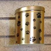 Paw Print Tin for cats and dogs