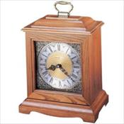 Continuum Oak Mantel Clock Urn