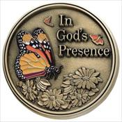 LifeStories Keepsake Medallion - Butterfly