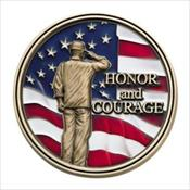 LifeStories Keepsake Medallion - Honor / Courage