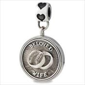 LifeStories Medallion Bead - Wife
