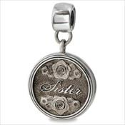 LifeStories Medallion Bead - Sister
