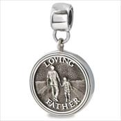 LifeStories Medallion Bead - Father