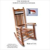 The Woods of North Carolina Rocker