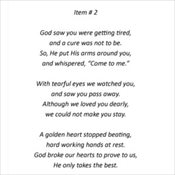 2 - God Saw You Getting Tired