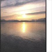 Stock Memorial Folders - Sunset