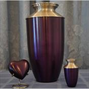 The Monterey Purple Urn
