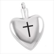 5. Simple Cross Heart