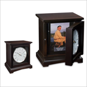 Cocoa Memorial Mantel Clock