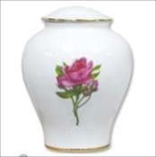 Porcelain Rose Urn