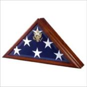Premium Wood Flag Case
