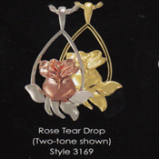 Rose Tear Drop