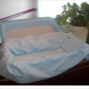 Deluxe Casket in Blue
