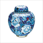 Royal Blue Cloisonne