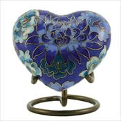 Floral Blue Elite - Heart