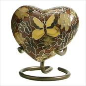 Golden Butterfly - Heart