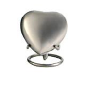 Grecian Rustic Pewter - Heart