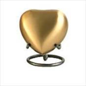 Grecian Rustic Bronze - Heart