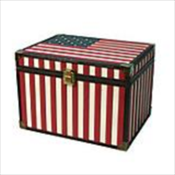 Star Spangled Banner Flag Memory Chest