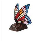 Blue Butterfly Lamp Keepsake
