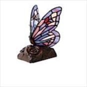 Purple Butterfly Lamp Keepsake