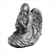 Serenity Angel Keepsake - Antique Pewter