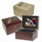 Memory Chest Urns - Solid wood