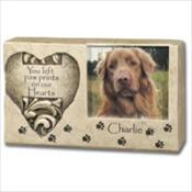Heart Pawprint Keepsake
