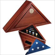 Independence Flag Case Urn