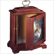Continuum Cherry Mantel Clock Urn