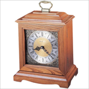 Continuum Oak Mantel Clock Urn