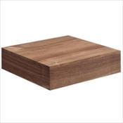 Walnut Wood Base Urn