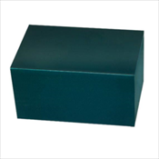 Regal Polo Green Bronze Chest Urn