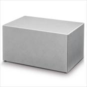 Silver Steel Chest Urn
