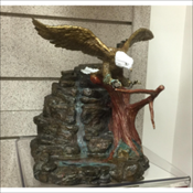 Cast Bronze Eagle