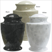 Solid Marble Urn