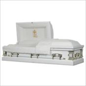 Golden Cross (Cremation Rental Casket). $1395