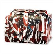 American Flag Cultured Marble