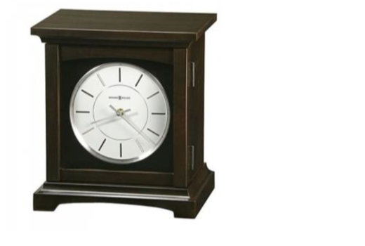 $Chocolate Brown Clock